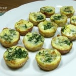 Potato Crusted Mini Quiche