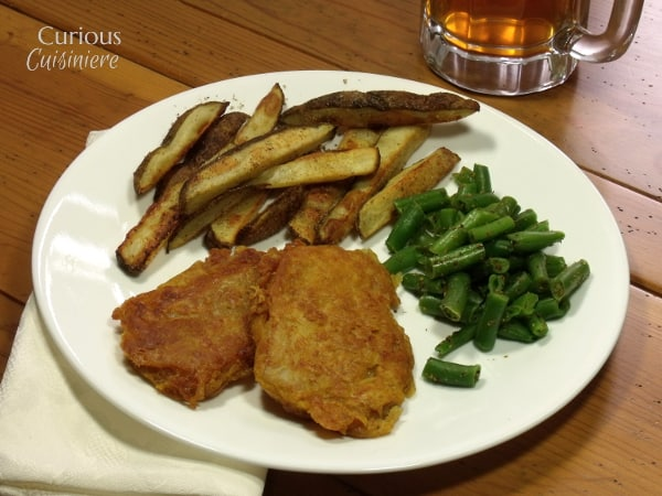 Lightened Up Fish and Chips from Curious Cuisiniere
