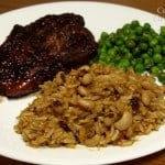 Southwest Brown Rice Pilaf with Black-Eyed Peas