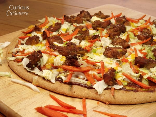 Chicken Teriyaki Pizza from Curious Cuisiniere