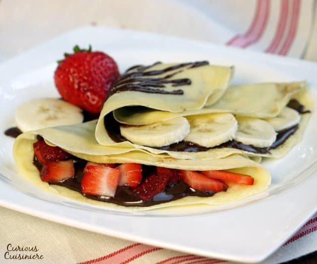 Sweet French Crepes Curious Cuisiniere