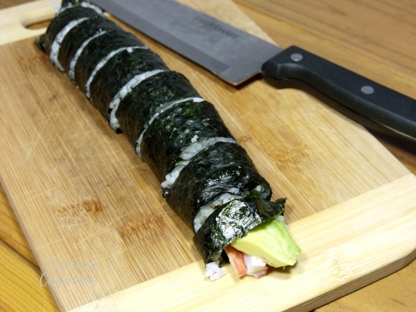 Sushi from Curious Cuisiniere