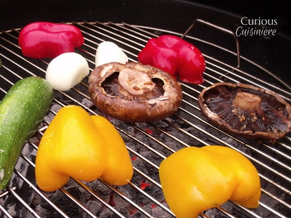 Balsamic Portobello Burgers from Curious Cuisiniere