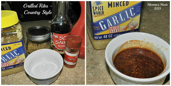 This Country Style Rib Marinade Is Simple To Make Using Pantry Staples It Is Sure
