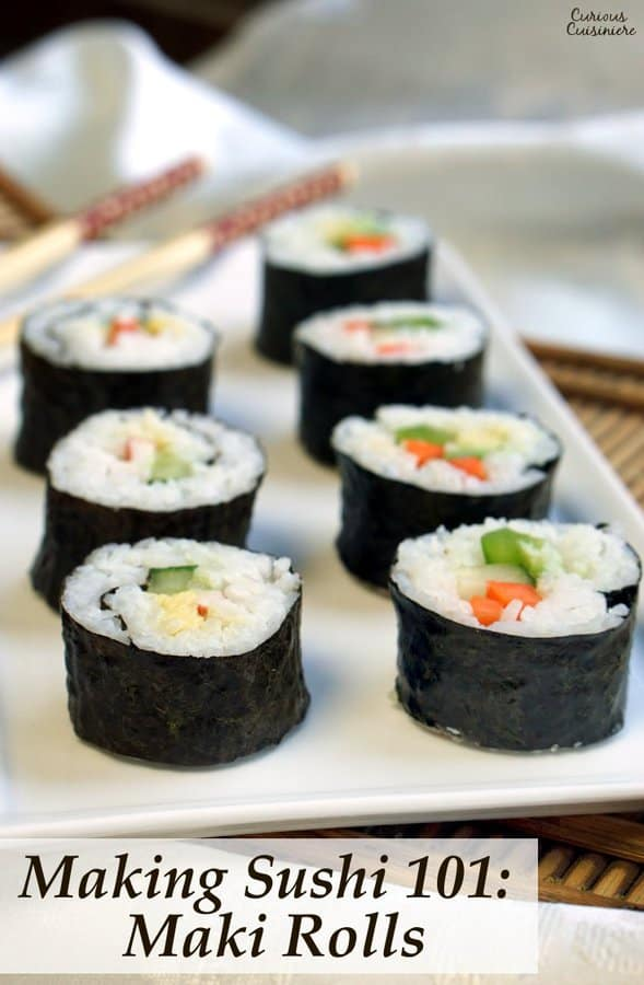 How To Make Maki Rolls - Step by Step Guide • Curious ...