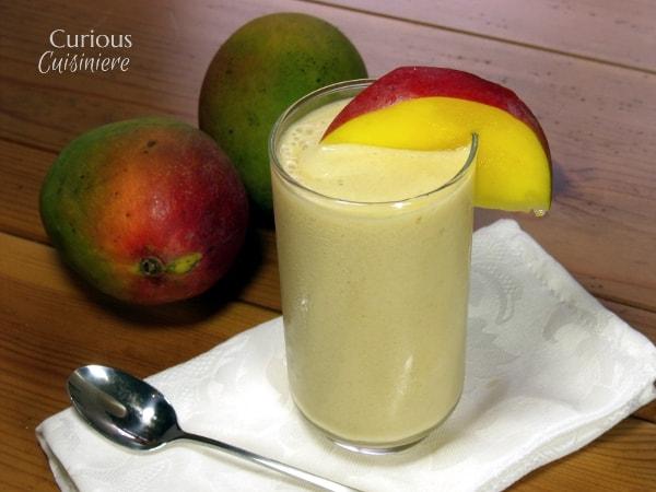 Mango Lassi Recipe from Curious Cuisiniere