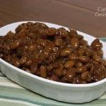 BBQ Baked Beans {Crock Pot}