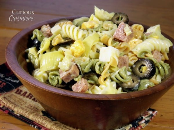 Antipasto Pasta Salad with Summer Sausage