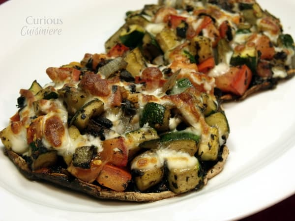 Veggie Stuffed Portobellos from Curious Cuisiniere