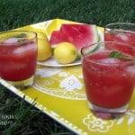 Watermelon Basil Lemonade