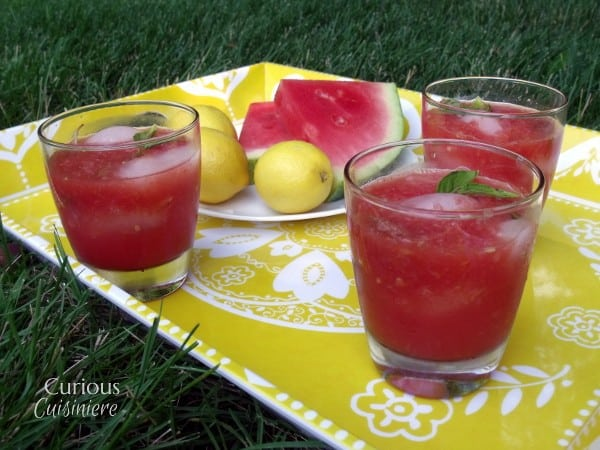 Watermelon Basil Lemonade