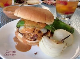Creamy Chipotle Burgers from Curious Cuisiniere