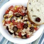 Mediterranean Lima Bean Succotash