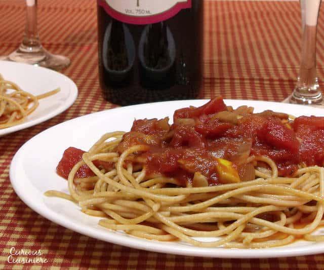 Chianti Pasta Sauce | Curious Cuisiniere