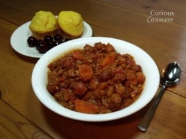 Tart Cherry Chili from Curious Cuisiniere