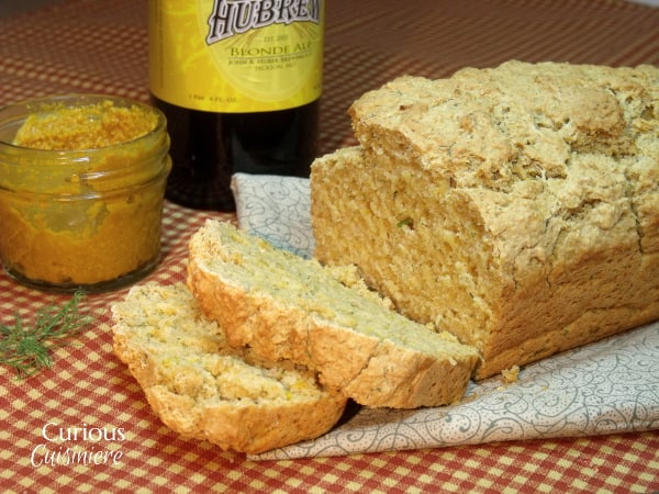 What makes bread rise? Beer bread from Curious Cuisiniere