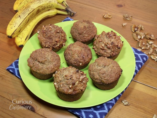 Banana Bread Muffins from Curious Cuisiniere