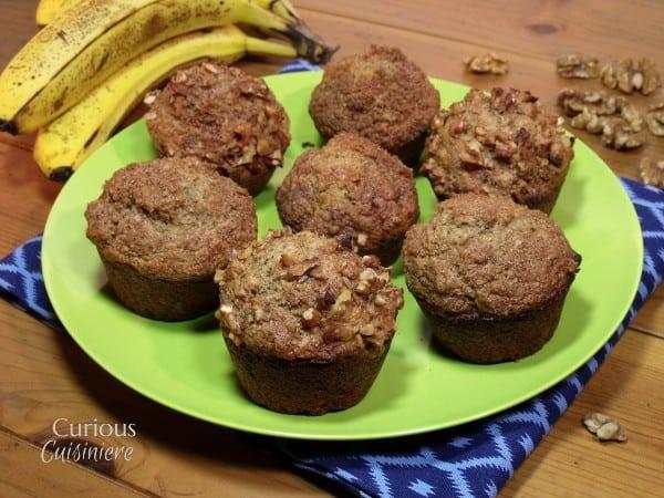 Banana Bread Muffins #SundaySupper