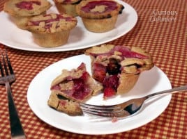 Mini Cherry Pies from Curious Cuisiniere