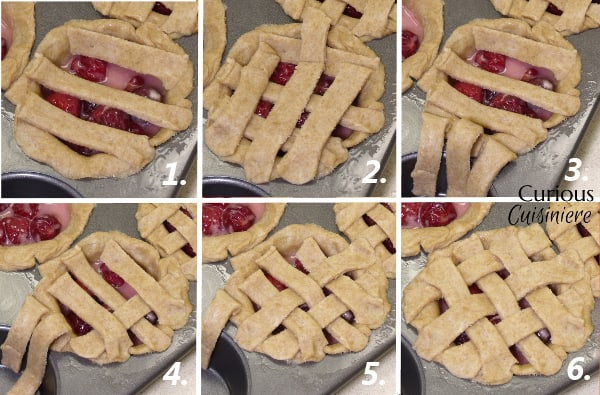 How To Make A Lattice Crust from Curious Cuisiniere