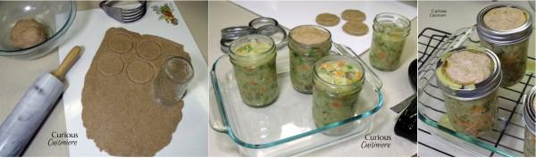 Making Vegetable Pot Pies in Jars