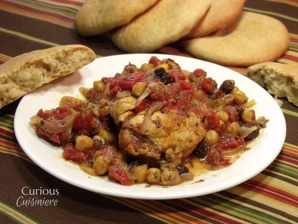Sweet Chicken Tajine from Curious Cuisiniere 3