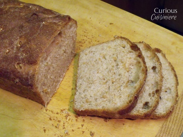 Soaked Wheatberry Bread from Curious Cuisiniere