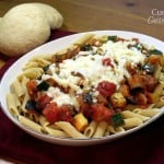 Ratatouille Pasta for #WeekdaySupper