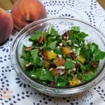 Grilled Peach Salad #SundaySupper