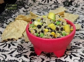 Quinoa and Avocado Salad from Curious Cuisinere