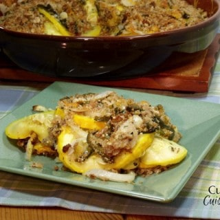 Summer Squash Gratin from Curious Cuisineire