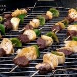 Grilled Fajita Kebabs #SundaySupper