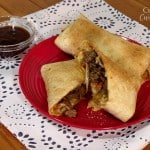 Homemade Szechuan Sauce and Asian Fusion Burritos