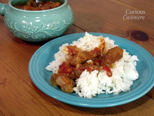Coconut Fish Curry from Curious Cuisiniere