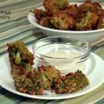 Crispy Broccoli Cheddar Bites