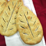 The French cousin to the Italian focaccia, this flat bread maximizes the crispy, crackly crust.