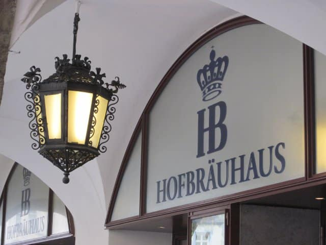 Hofbrauhaus in Munich Germany | www.CuriousCuisiniere.com