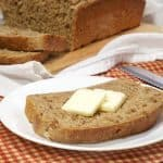 Soaked Wheat Berry Bread