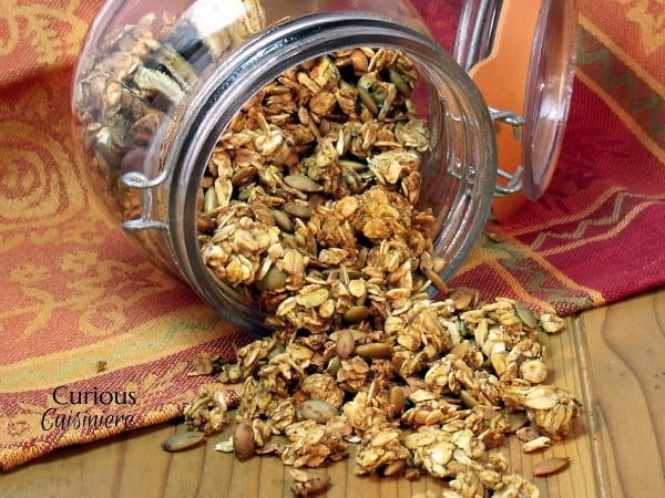 Pumpkin Spice Granola from Curious Cuisiniere