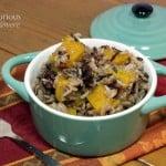 Butternut Squash Wild Rice Pilaf