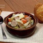 Oktoberfest Stew {Crock Pot}