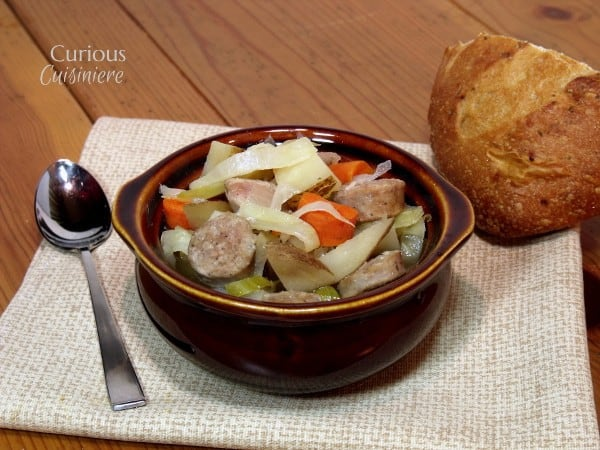 Oktoberfest Stew {Slow Cooker}