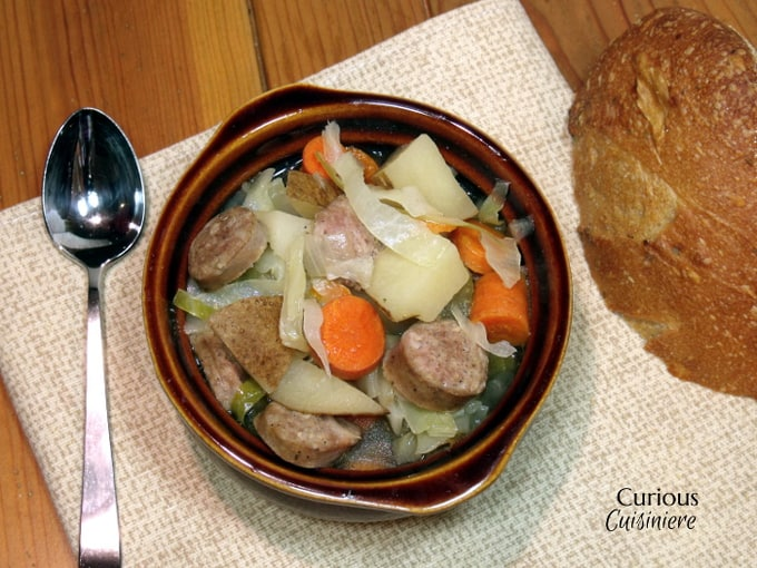 Oktoberfest Stew from Curious Cuisiniere