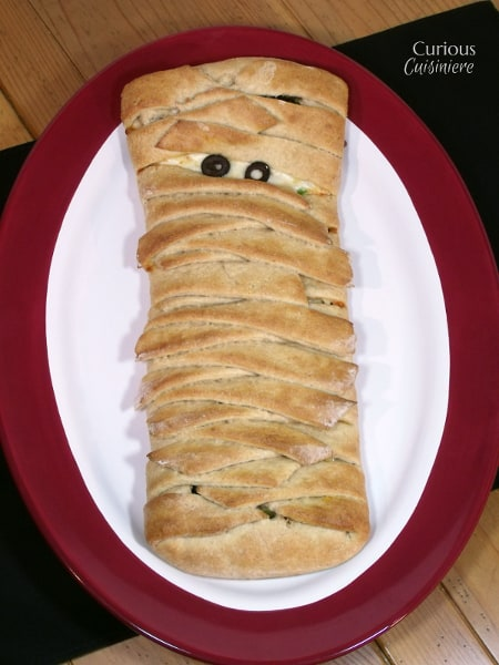 Mummy Calzone from Curious Cuisiniere