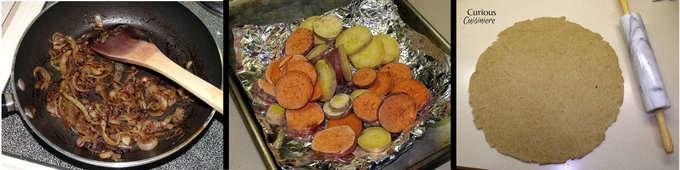 Sweet Potato Onion Tart from Curious Cuisiniere