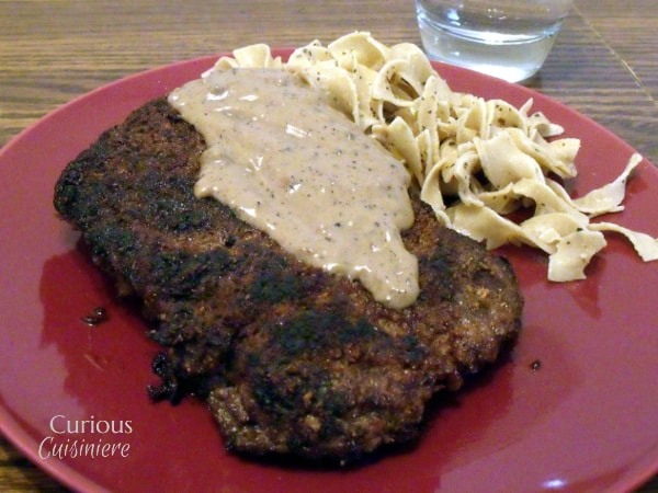 Country Fried Venison Steak from Curious Cuisiniere