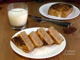 Pumpkin Pie Stuffed French Toast from Curious Cuisiniere