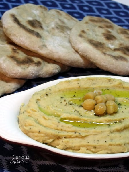 In this Spicy Oregano Hummus, oregano adds a rich herby-ness and a splash of hot sauce gives a slight kick. It's the perfect, unique way to use oregano!    Curious Cuisiniere