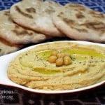 Spicy Oregano Hummus