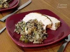 Apple and Wild Rice Stuffing from Curious Cuisiniere